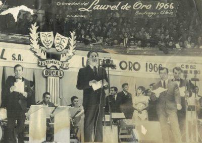 Premiación Laurel de Oro - 1966